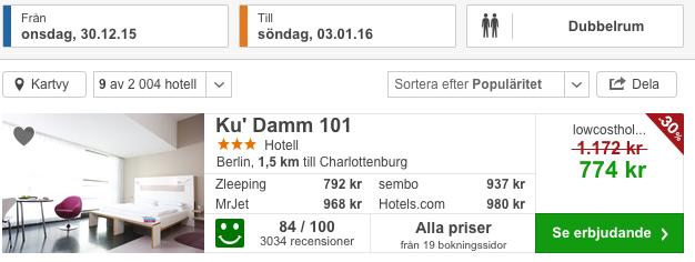 billigt hotell berlin