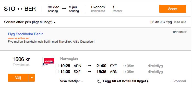 Nyår I Berlin Flyg Tr 3 Hotell 4 Nätter Fr 2244 Kr