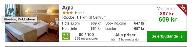 billigt hotell