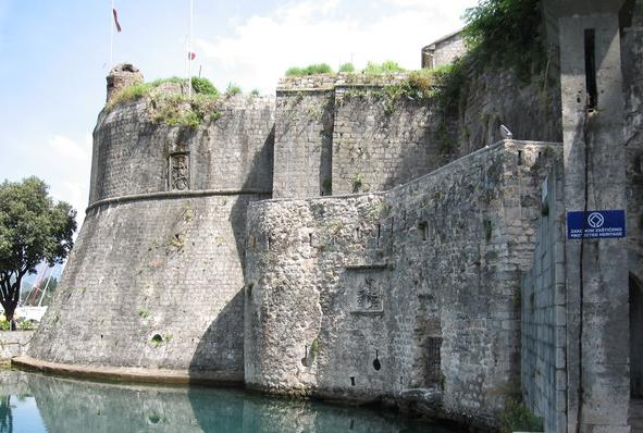 kotor stadsmur
