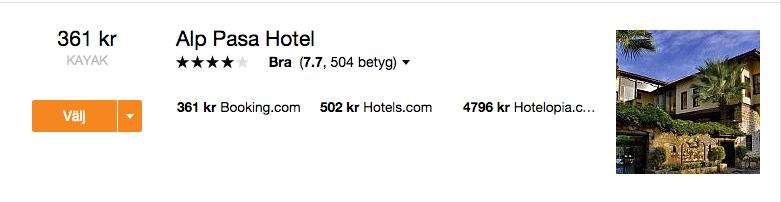 billigt hotell antalya