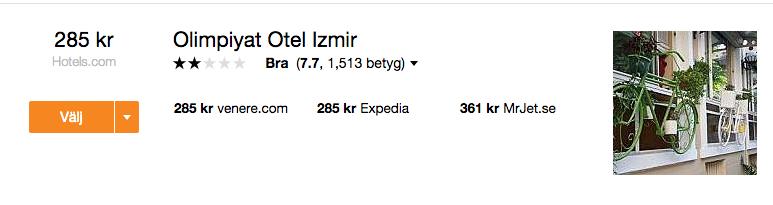 billigt hotell izmir