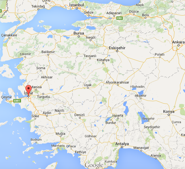 karta turkiet