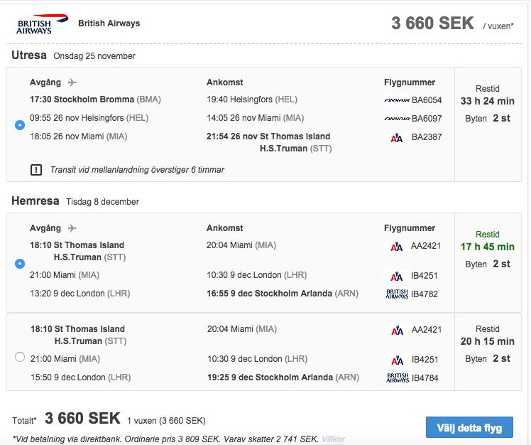 billiga flygbiljetter