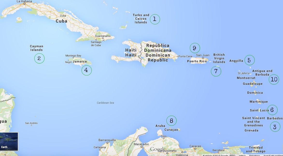 karibiska öar